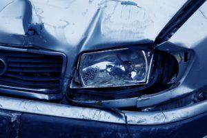 wypadek drogowy - auto zastępcze